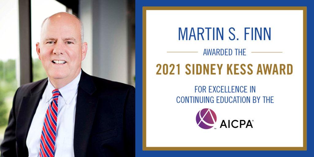 Martin S. Finn AICPA Award